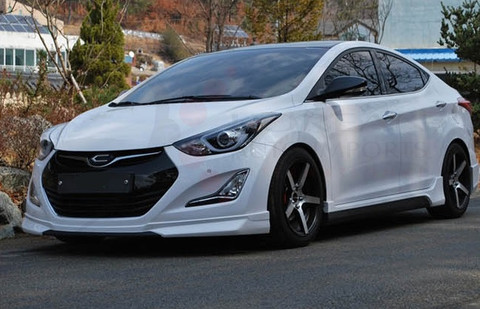 2014 2015 elantra md zest full body kit korean auto imports. Black Bedroom Furniture Sets. Home Design Ideas