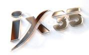 """2010+ Tucson IX """"IX35"""" Accent Emblem"""