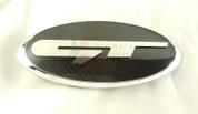"""2007 - 2009 Santa Fe Loden """"GT"""" Emblem Badge Set Grill Trunk Steering Caps 7pc"""