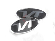 "Veloster Loden ""VT"" Turbo Badge Emblem Grill Trunk"