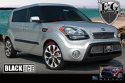 2012-2014 Kia Soul E&G Classics BLACK ICE Mesh Grill Set 2pc