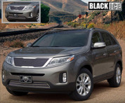 2014+ Sorento E&G Classics BLACK ICE Mesh Grill Set 2pc LX / EX