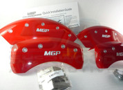 "MaxCruz ""MGP"" Caliper Covers 4pc Set (Red, Black, Silver)"