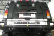 2003 - 2011 Hummer H2 Rear Bumper Cover