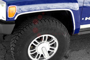 2006 - 2009 Hummer H3 Fender Trim on 3M Tape
