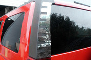 2006 - 2009 Hummer H3 Rear Window Trim