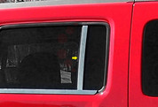 2006 - 2009 Hummer H3 Pillar Post Trim