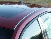 2003 - 2007 Cadillac CTS Chrome Roof Insert Trim