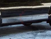 "2009 - 2014 Dodge Journey Chrome ""L-Type"" Rocker Panel Trim"