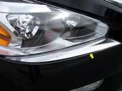2013 - 2014 Nissan Altima Chrome Front Bumper Cap Trim
