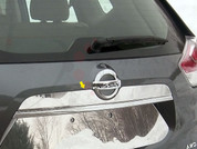 2014 + Nissan Rogue Chrome Chrome License Bar Trim