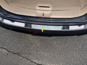 2014 + Nissan Rogue Chrome Chrome Rear Bumper Cover