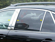 2004 - 2009 Lexus RX 330 350 400 Chrome Pillar Post