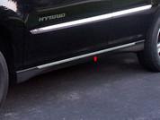 "2004 - 2009 Lexus RX 330 350 400 Chrome ""O-Type"" Rocker Panel Trim"