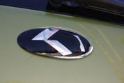 "2012 - 2013 *NEW* LODEN ""METAL SKIN"" Carbon K Grill/Trunk/Steering Emblem Badge Set 3pc"