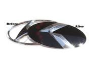2010-2012 Santa Fe~LEX STYLE~ LODEN Metal Skin Badge Emblem OVERLAY
