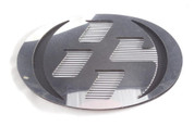 86 CHROME/MATTE BLACK w/ GRID Hood/Trunk Emblem Badge Replacement Toyota GT-86, Scion FRS, Subaru BRZ