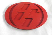 86 SOLID RED Hood/Trunk Emblem Badge Replacement Toyota GT-86, Scion FRS, Subaru BRZ