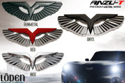 LODEN ANZU-T WING BADGE 3D Metal Emblem Grill/Hood/Trunk