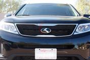 """2014+ Sorento LODEN """"K"""" Metal Skin Badge Emblem Grill/Trunk/Steering"""