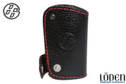 "Toyota GT86 ""86"" Genuine Leather Smart Remote Key Case Cover"