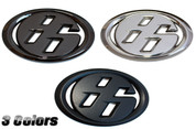 "3D Solid Metal ""86"" Badge Scion FRS, Subaru BRZ, Toyota GT-86"