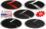 """2013-2016 Forte 5dr Hatchback LODEN SOLID METAL 3D """"K"""" Badge Emblem Hood/Grill/Trunk"""