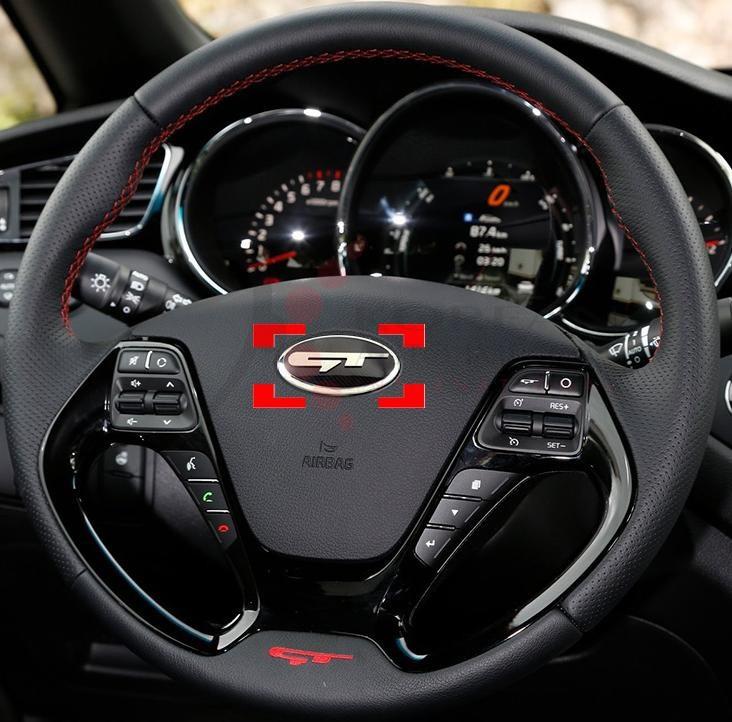 2016 Sportage Ql Style Quot Gt Quot Steering Wheel Emblem Badge