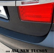 2016 + Tucson Bumper Sticker Decal Protector Carbon Style