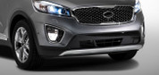 2016 + Sorento High-glossy polished Front Lower Grille