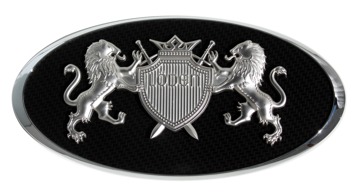 Terracan Loden Quot Crown Jewel Quot Emblem Badge Hood Grill Trunk