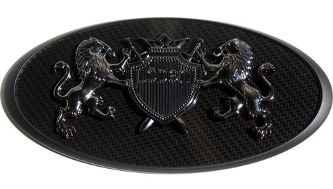 "LODEN ""Crown Jewel"" BLACK EDITION Emblem"
