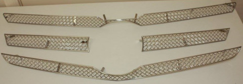 Mercedes GLK Germany Mesh Grill Set 5pc