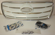 2010-2012 Santa Fe OEM Front Grill WHITE color