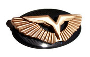 LODEN GOLD ANZU T-WING Emblem/Badge Hood/Grill/Trunk