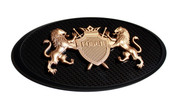 "LODEN GOLD ""Crown Jewel"" Emblem Badge Hood/Grill/Trunk"