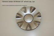 "V8 Model 18"" Wheel Cap, 1pc"