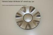 """V8 Model 18"""" Wheel Cap, 1pc"""