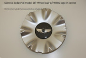 "V8 Model 18"" Wheel Cap w/ WING logo in Center 1 pc"