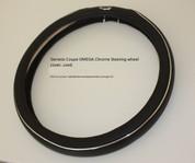 Genesis Coup OMEGA Chrome Steering Wheel Cover