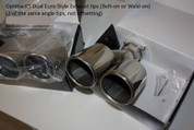 2011 - 2013 Optima K5 Dual Euro Style Exhaust tips