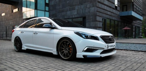 2015 Sonata Lf F3style Full Body Kit 3pc Korean Auto