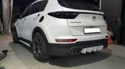 2016+ Sportage QL C-Factory Rear Bumper Lip Attachment/Diffusor