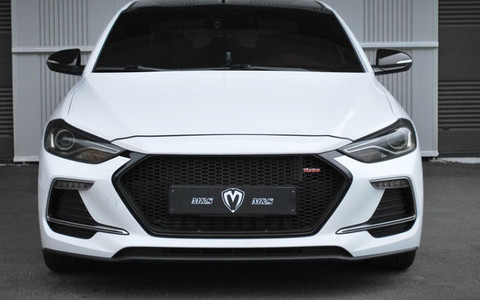 2016 Elantra Ad M Amp S Sport Radiator Grill Replacement