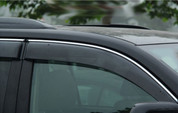 Mercedes-Benz GLC Chrome Trim Tinted Window Visors Set 4pc
