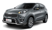 2016+ Sportage OEM Front Bumper Guard/Lip Attachment