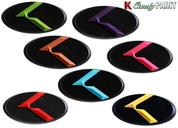"LODEN CANDY PAINT ""K"" Badge Emblem Hood/Grill/Trunk (VARIOUS COLORS!)"