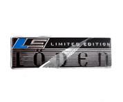 """LODEN """"Limited Edition"""" Plaque Accent Emblem"""