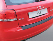 2008 - 2012 Audi A3/S3 3DR (NOT Cabriolet)MOLDED BLACK Rear Bumper Paint Guard Protector