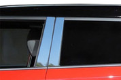 "2014+ Kia Soul ""SAA"" Stainless Chrome Polished Pillar Posts 4pc"